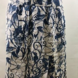 JM COLLECTION Beautiful Boho stylish chic skirt